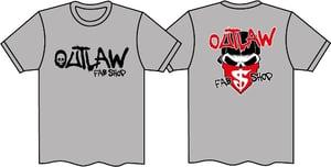 "Image of Outlaw Fab Shop ""THUG"" T-Shirt XXXL"
