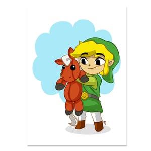 Image of Link and Epona
