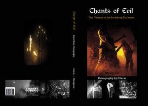 Image of Chants of Evil - Photo Book on Black Metal (2011) plus Poster