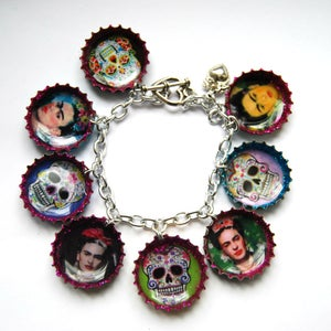 Image of Frida/Skull  Bracelet