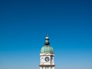 Image of Athens Under Blue Sky