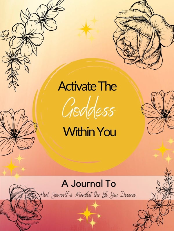 Image of Manifestation Journal: Activate The Goddess Within You