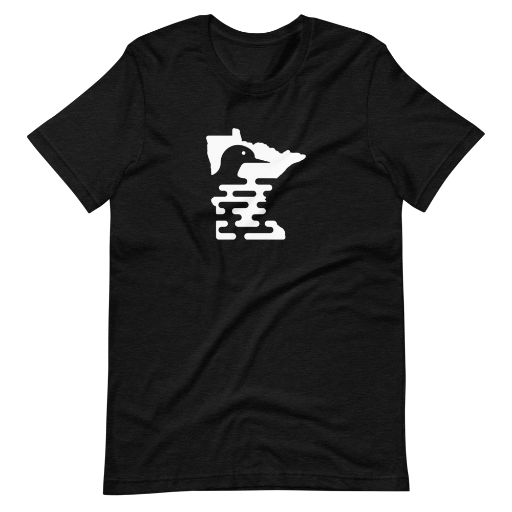 Image of MN Loon (Black/White) T-Shirt