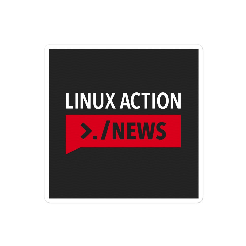 Linux Action News Sticker