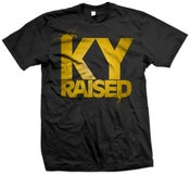 Image of Ky Raised in Black and Gold