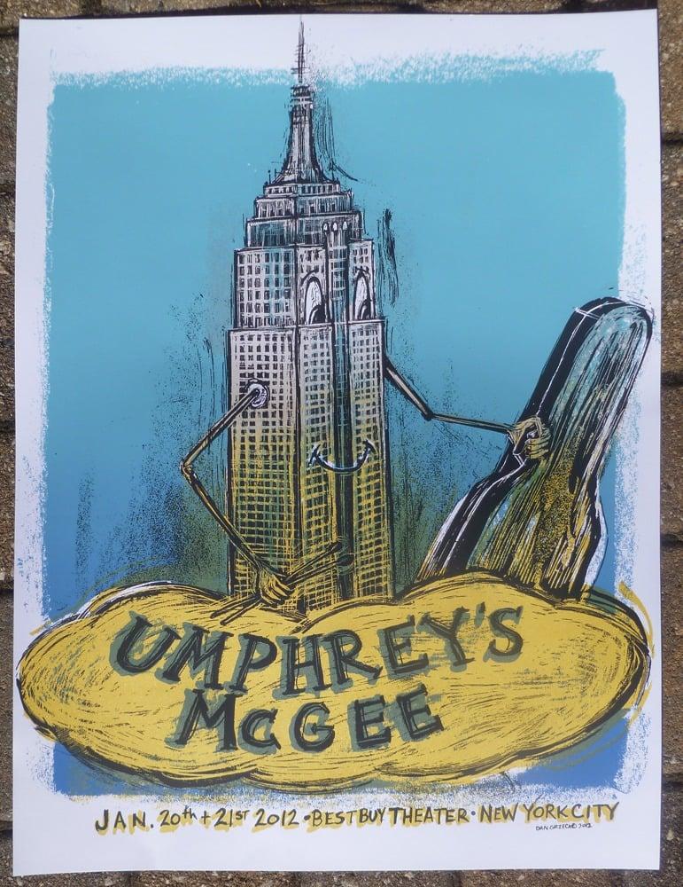 Image of Umphrey's McGee NY 2012