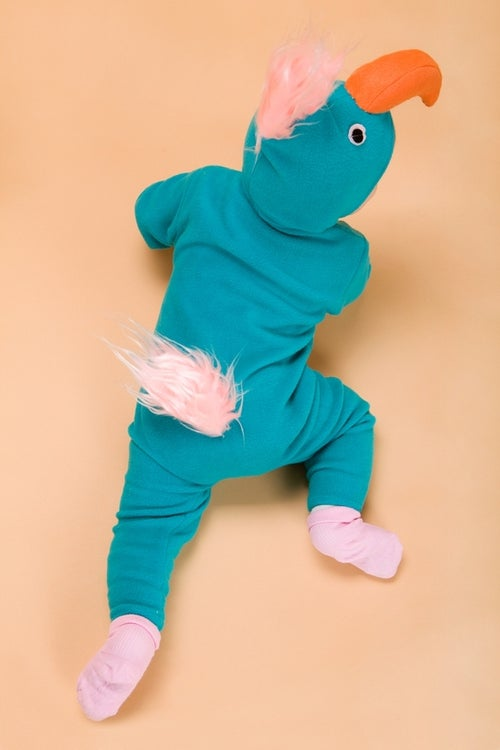 Image of Turquoise Parrot  Costume                                   תחפושת תוכי