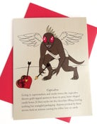 Image of Cupicabra Valentine's Day Card