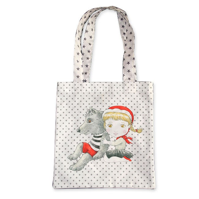 Image of Sac en coton enfant Chaperon Rouge