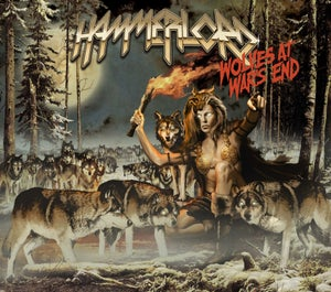 "Image of Hammerlord ""Wolves at Wars End"" CD"
