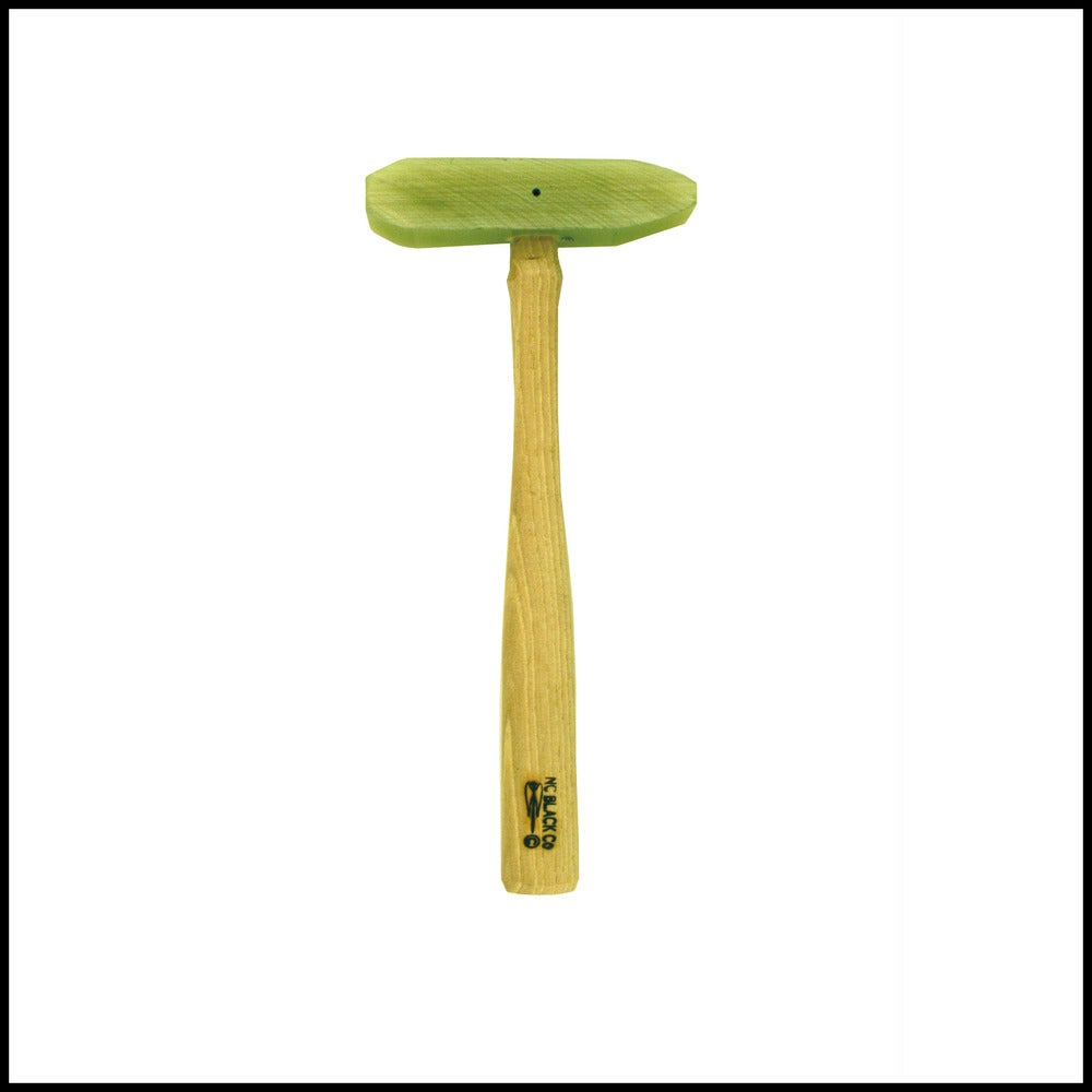 Image of Green Micarta Raising Mallet