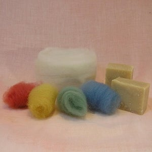 Image of Wet Felted Soap Kit - Large