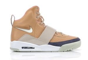 Image of Nike Air Yeezy - Tan/Tan - DEADSTOCK