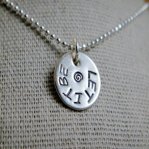 Image of Let It Be Necklace