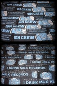 Image of Double sided I Drink Milk Records scarves