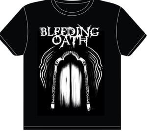 "Image of Bleeding Oath Shirt (No ""Fuck Off"" Print)"