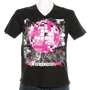 "Image of LIMITED EDITION ""Disco Ball"" V-Neck T-Shirt"