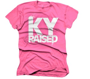 Image of Female Ky Raised in Hot Pink and White