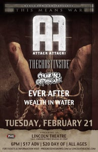 Image of Tickets for Attack Attack and The Ghost Inside @ Lincoln Theatre