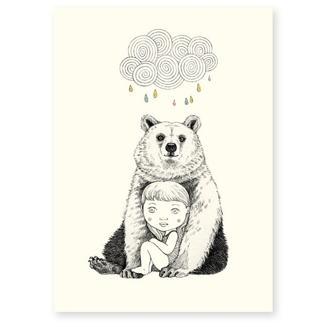 Image of Affichette Ours A5