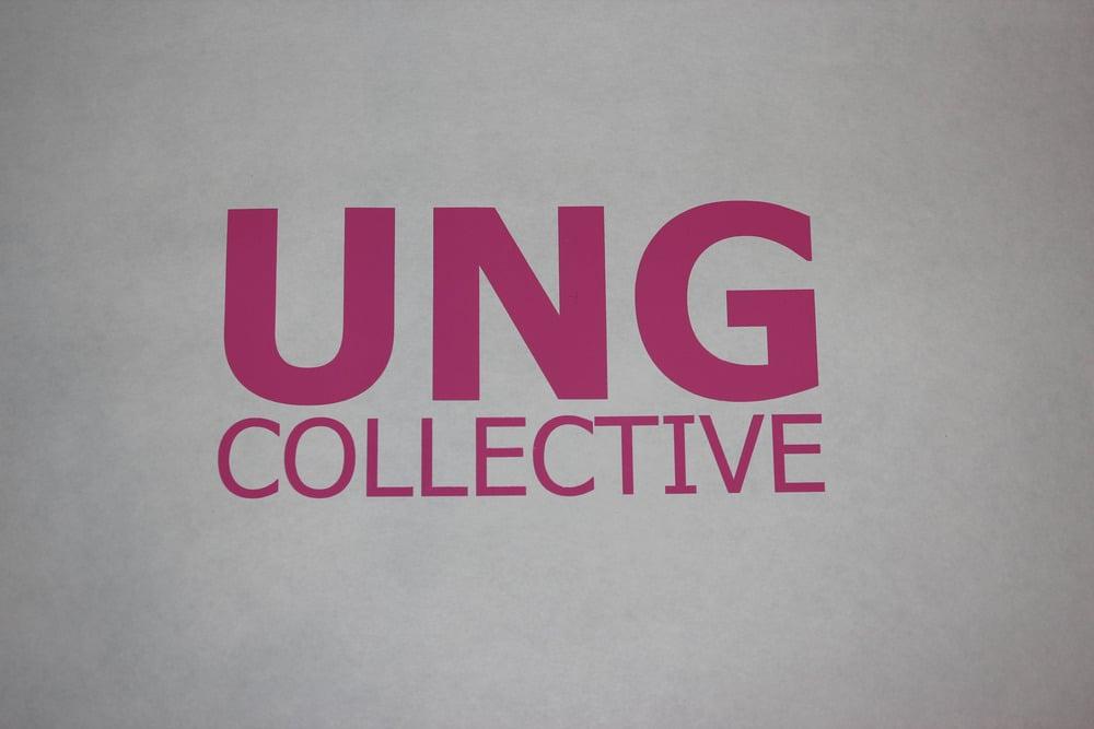 Image of Pink Block Letter Vinyl