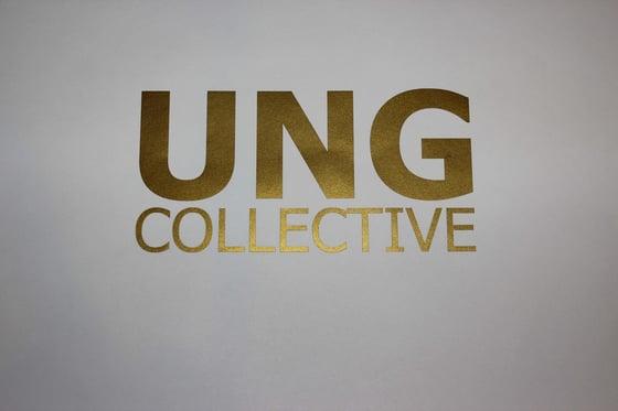Image of Gold Block Letter Vinyl