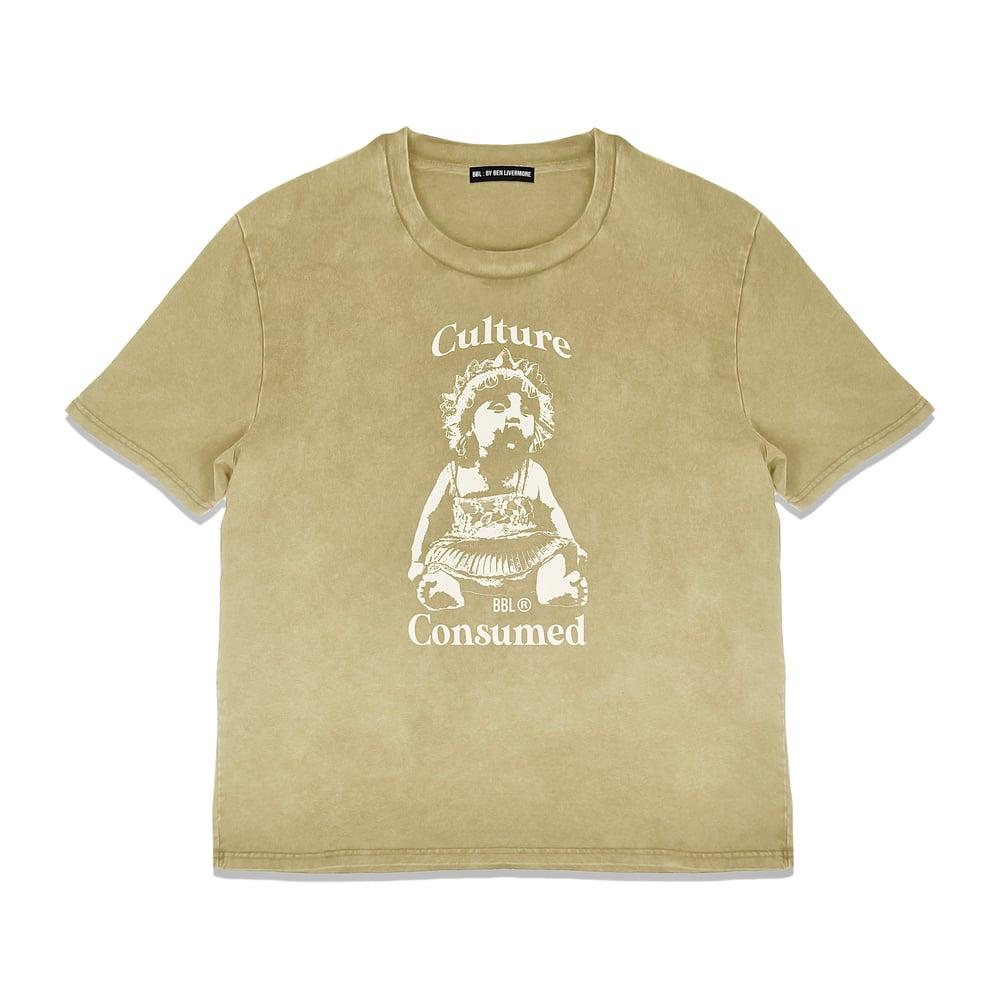 Image of Consumed T-Shirt (Vintage Mustard)
