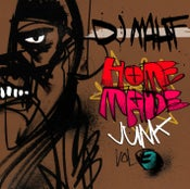 Image of DJ Mahf - Homemade Junk vol. 3 mixtape - CD Hard Copy