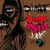 Image of DJ Mahf - Homemade Junk vol. 3 mixtape - CD Hard Copy