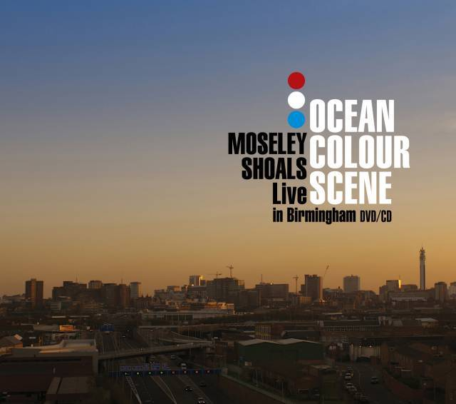 "Ocean Colour Scene ""Moseley Shoals Live"" Limited Edition CD/DVD"