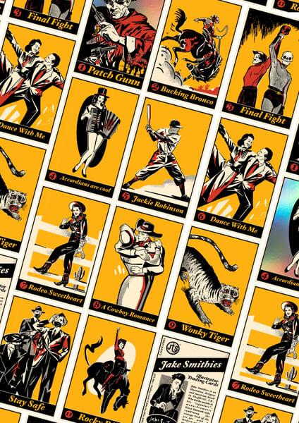 Image of JTS illus x Trading Cards
