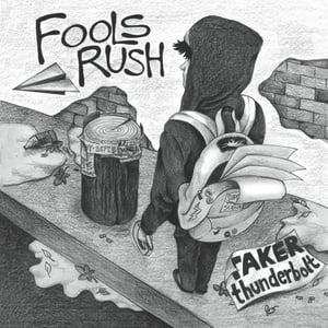 "Image of FOOLS RUSH/ABOLITIONIST split 7"""