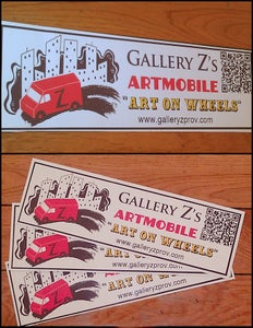 Image of ArtMobile Bumper Sticker