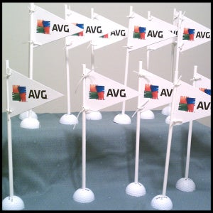 Image of Golf Table Flags