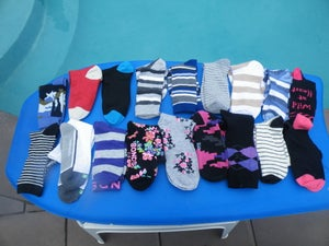 Image of Socks Ready for Making