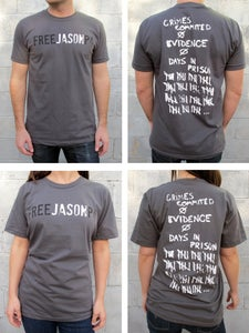 Image of Free Jason P Shirt - $30 donation