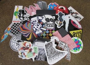 Image of Die-Cut Sticker Folio