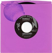 "Image of TRANZISTORS / PRINCESS DRAGON-MOM ""FREE ELECTRIZITY"" young soul rebels 45"
