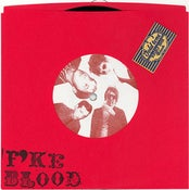 "Image of F*KE BLOOD ""WATER WINGS"" b/w ""THE BAND THAT BLED REAL BLOOD"" italy records 45"