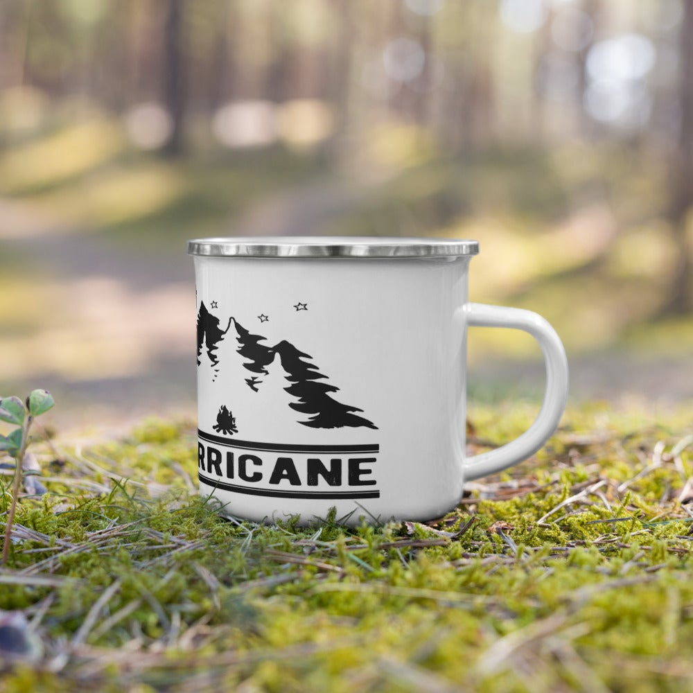 "Image of Little Hurricane ""Camp"" Enamel Mug"