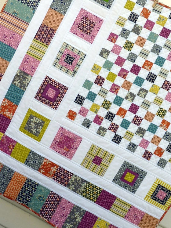Image of Bricks and Stones Quilt Pattern (pdf file)