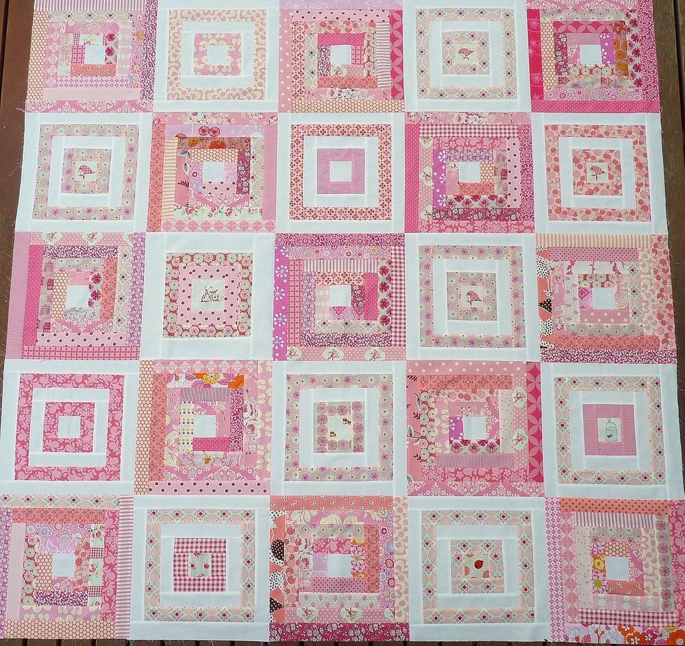 Image of Georgia's Quilt Pattern (pdf file)