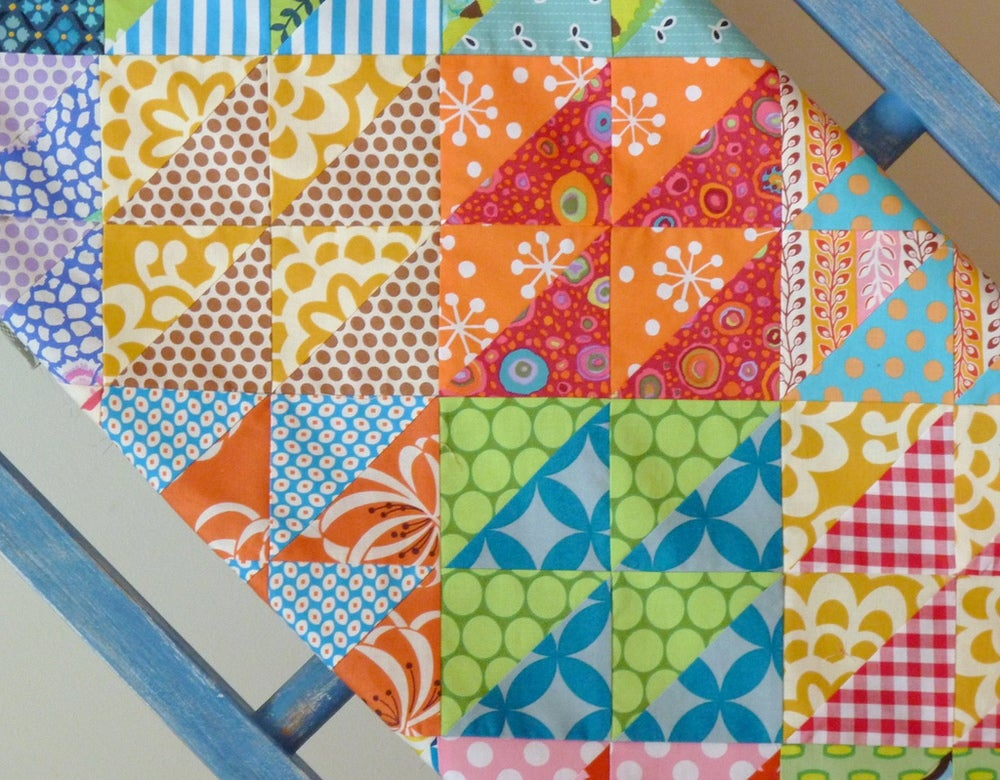 Hst Overload Quilt Pattern  Pdf File     Red Pepper Quilts