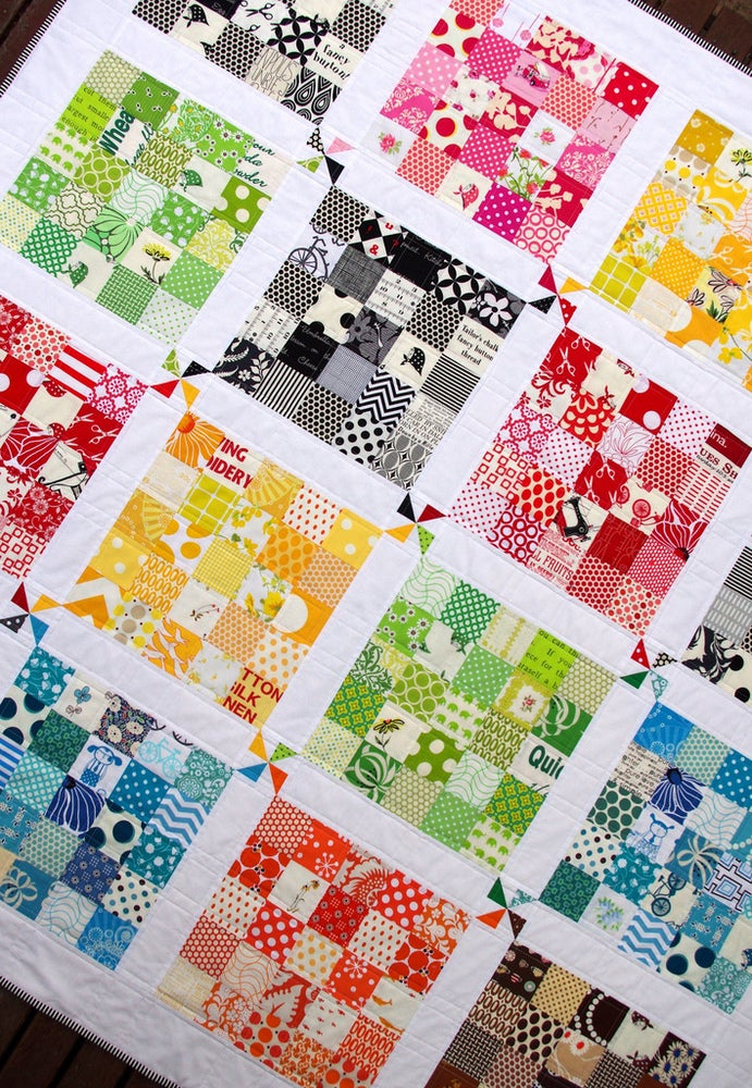 Quilter S Palette Quilt Pattern Pdf File Red Pepper Quilts