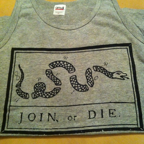 Image of Join, or Die (Tank)