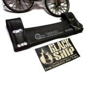 Image of U Lock Holster - Black Vegan Bike Tube Rubber Holder