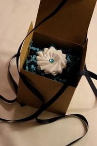 Image of mini ribbon boutonniere