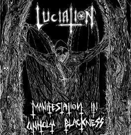 Image of LUCIATION - Manifestation in Unholy Blackness LP