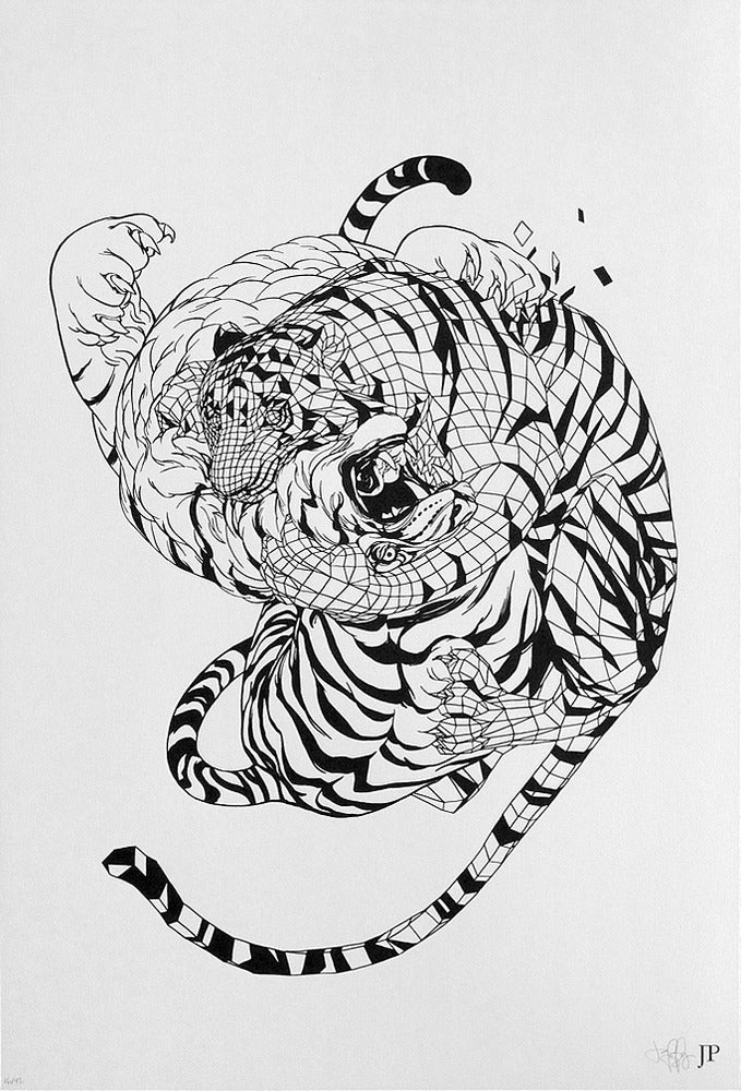 Image of Jared Purrington - Serigraph Print