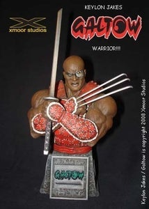 Image of Keylon Jakes Galtow Warrior Bust / ON SALE!!!